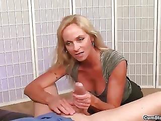 Horny Milf Handjob