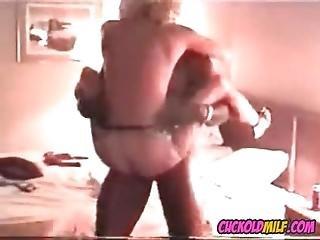 Cuckold Milf Fucked By Bbc Bull Sissy Enjoys Watching Her