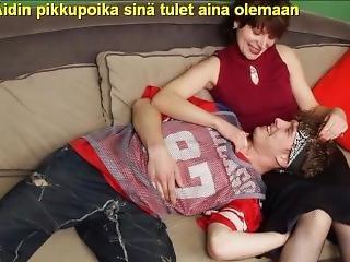 Slideshow With Finnish Captions: Mom Christina 3