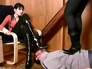 Boots Worship And Trample