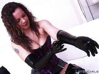 Dressing Latex Gloves And Pvc Boots