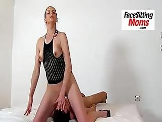 Euro Milf Marta High Heels Stockings And Cunnilingus