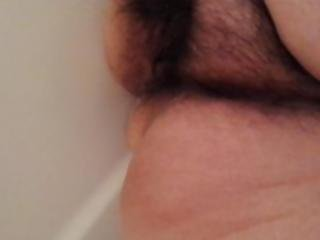Natural Hairy Bush Piss In Tub