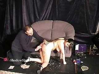 Asian Bdsm Gameshow Of Busty Slavegirl Tigerr Juggs Drawing Hot Wax