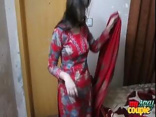 indisk, hustru