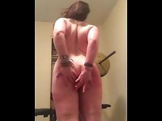 Big Botty Thick White Slut Fucks Herslef And Dances In Striptease Amateur