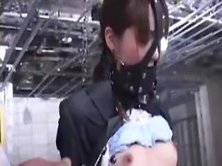 Asian Bdsm With Bound Japanese Female Being Used
