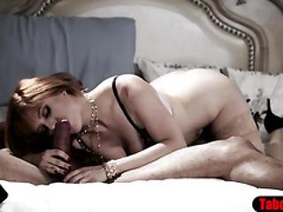Busty Milf Housewife Cuckolded In Front Of Tied Husband