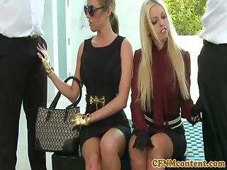 Cubas angelina castro foursome blowjob and 6 huge tits - 3 7
