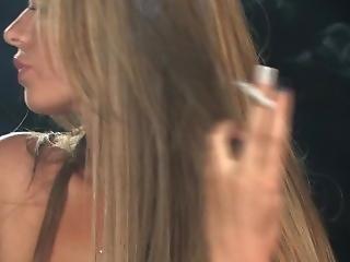 Liberty Parisse - Smoking Makeup