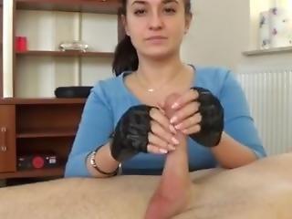 Fingerless Gloves - Handjob