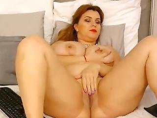 Bustygizelle With Rare Pussy Show And Of Course Her Big Tits