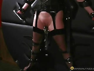 Brunette, Chained, Exgf, Fetish, Lesbian, Mature, Rubber