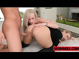 Skylar Green And Angel Allwood Fucks Dick Until They Get The Cum They Want