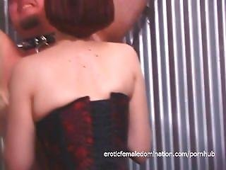Two Delicious Gals And One Dude Enjoy Filming Naughty Bdsm Scenes