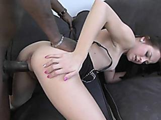 Czech Coed Ashley Woods Gets Pounded With A Big Black Cock