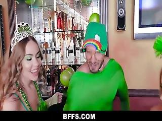 St Paddys Day Can Get A Little Crazy Sometimes, And When Katie Kush, Naomi Blue, And Serena Avery Are Involved, Things Usually Go Off The Rails