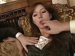Mei Haruka Enjoys Two Men For A Wild Threesome Fuck