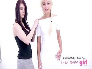 Teen Supermodel Does Lesbian Casting Audition