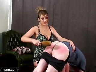 Hubby Hard Spanked