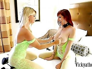 Sex Toy Milf Vicky Vette Plays With Nympho Lauren Phillips