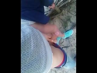 Slut Wife In Beach