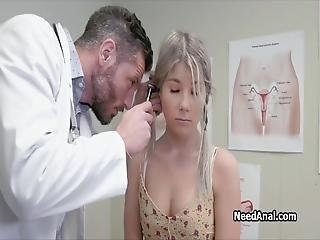 Meet Mike One Of The Horniest Doctors Ever He Likes It When Hot Teens Come For A Yearly Check Up And He Is Ready To Give Them A Special Anal Treat!
