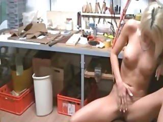 German Blonde Creampie