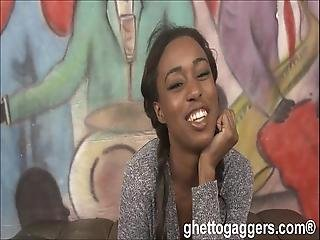 Ghetto Gaggers Simone Styles Gets Back For Some More Nasty Face Fucking