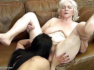 sindsyg, lesbisk, matur, milf, sex, ung