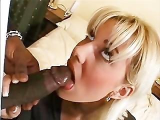 Anal, Big Black Cock, Black, Blonde, Dick, Interracial, Sexy, Surprised