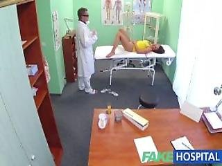 Doctor Wants To Help Cheating Patient Concieve With A Fertile Creampie