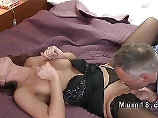 Shaved Pussy Mature Rimmed And Screwed