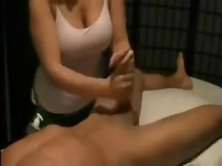 Busty Girl Gives A Pro Handjob - More At Pornwebcamz.com