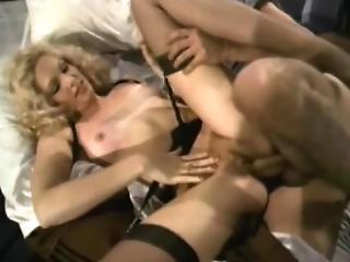 Blonde Bimbo Gets Fucked