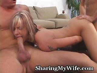 Hubbys Buddy Gets A Piece Of Wifey