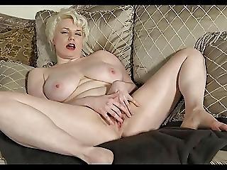 Curvy Blonde Milf