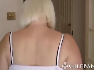 Slutty Granny And A Horny Blonde Teen Know How To Please A Big Black Dong They Enjoy Giving A Blowjob Before Getting Their Cunts Filled