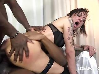 neger, dubbele penetratie, gangbang, interraciale, milf, pentratie, porno ster