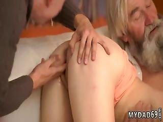 Mom And Ally Share One Bed Bound Teased His Father Came Closer To Her And
