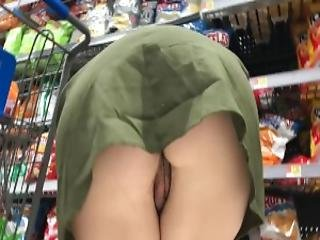 Nackt unter dem rock gif