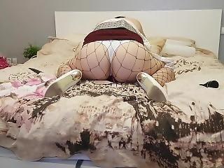 Slut Wife Masturbating Squirt And Fucked Hard