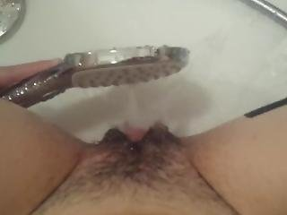 Hard Female Orgasam In Shower
