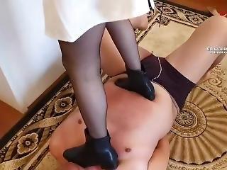 The Cruel Queen Tramples The Slaves Under The Broken Feet