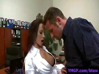 Busty Office Babes Banged By Their Bosses - BigTitsAtWork 11