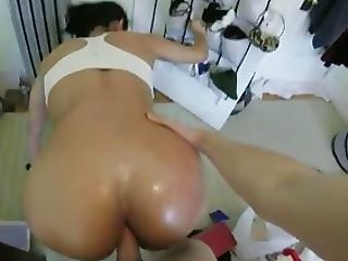 anal, dupa, seks analny, ruchanie, domowe, chuda, sport, turka