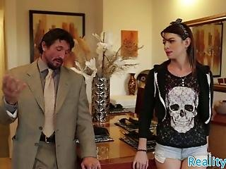 Anally Banged Stepdaughter Loves Her Stepdad And Enjoys Doggystyle