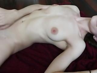 Absolutely Amazing Girl Masturbates For Us