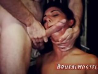 Hardcore anal bondage crying Poor tiny