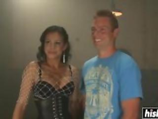 Jaquelin Braxton gets to dominate her man